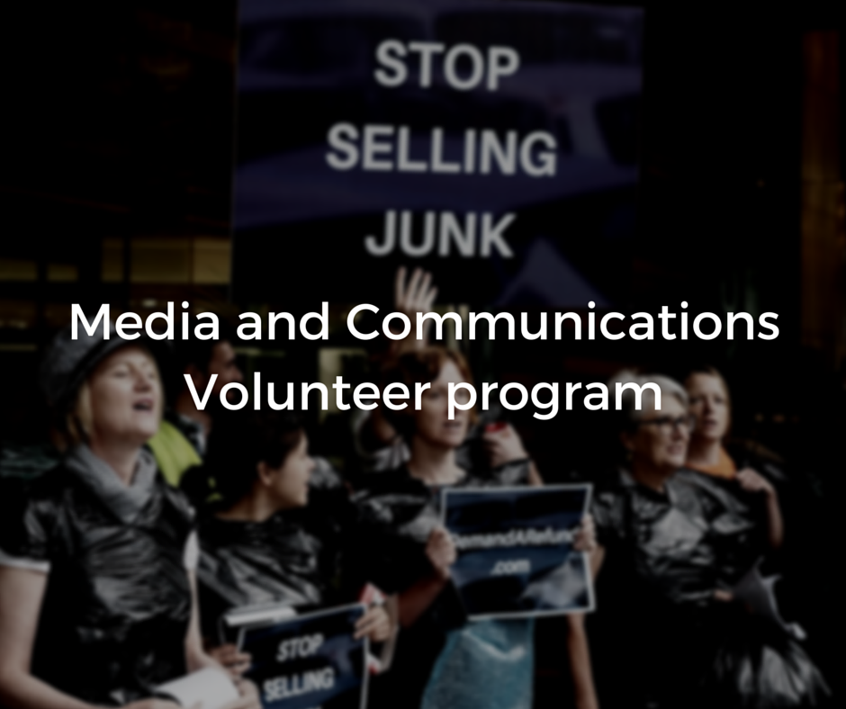 Media and CommunicationsVolunteer program